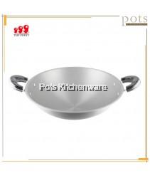 Top Point High Quality Taiwan Double Ear Aluminum Wok Kuali (30cm/33cm/36cm/38cm/40cm) - TPS0220R30M