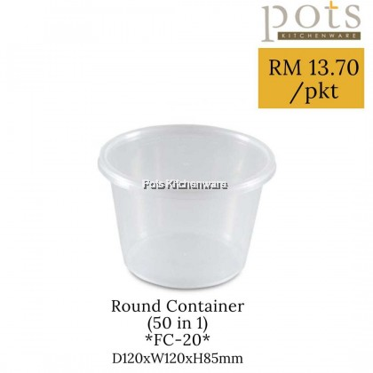 Felton BPA Free Plastic Round Rectangle Square Disposable Take Away Food Container