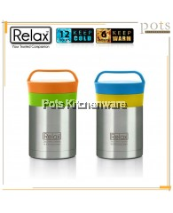 Relax 350ml Stainless Steel Thermal Food Jar - CLEARANCE