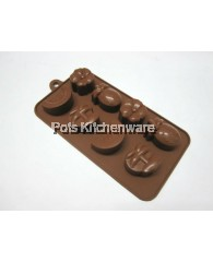 Cute Fruits Silicon Chocolate Mould