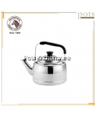 7.5 Litre Zebra Stainless Steel SUS304 Whistling Kettle - 113550
