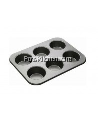 Non Stick 6 Cup Muffin Pan