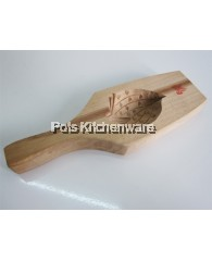 Wooden Hand Crafted Peach Mould