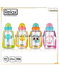 400ml Relax Tritan BPA Free Kids Water Bottle - D7640