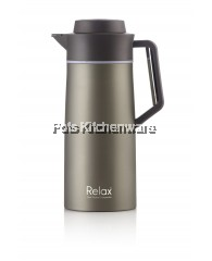 2000ml Relax Stainless Steel Thermal Carafe - D2820