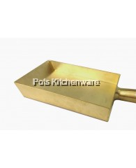 15 x 20cm Rectangular Brass Pan - H004971520