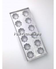 12 Mangosteen Rectangular Aluminium Mould - AL247