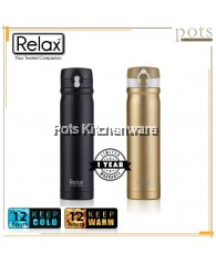 500ml Relax Stainless Steel 18.8 Flip Lock Design Thermal Flask - D2450