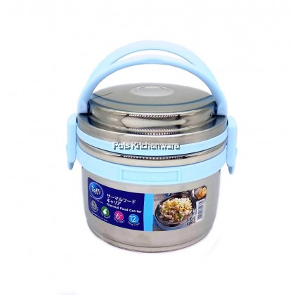 1000ml Toffi Stainless Steel 18.8/SUS304 Thermal Food Carrier Take Away Lunch Box - K3910