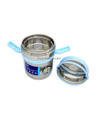 1400ml Toffi Stainless Steel 18.8/SUS304 Thermal Soup Carrier Take Away Lunch Box - K3914