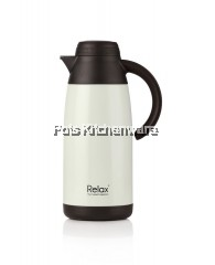 1100ml Relax Stainless Steel Thermal Carafe (Pearl White)
