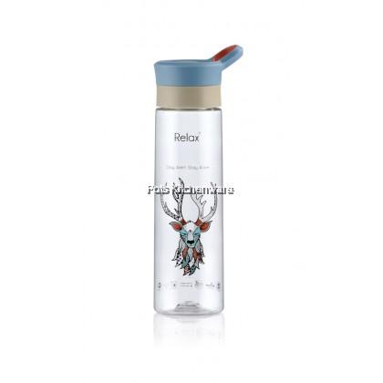800ml Relax BPA Free Multi-Color Tritan Water Bottle -D8280
