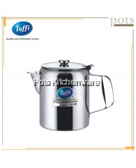Toffi Stainless Steel Coffee Pot with Lid - B1100