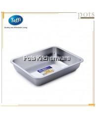 Toffi Stainless Steel Rectangular Serving Tray - K0432