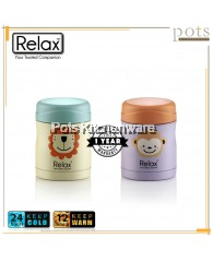 300ml Relax Stainless Steel 18.8 Thermal Kids Food Jar - K3430