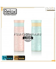 400ml Relax Stainless Steel 18.8 Thermal Flask - D5040