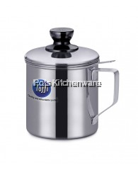 12cm Stainless Steel Oil Pot - K0912