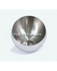 22cm Stainless Steel Bevel Bowl - K5222