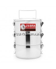 12cm x 3 tiers Zebra Food Carrier Lock (extra High) - Z150230