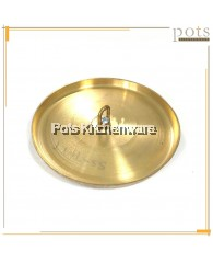 Round Brass Bahulu Kuih Baking Mould Cover - SSTTTM