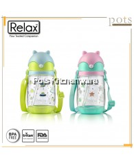 350ml Relax Tritan Kids Water Bottle - D7535