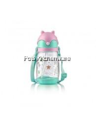350ml Relax Tritan Kids Water Bottle - D7535-Pink
