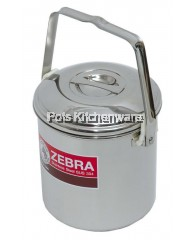 Zebra 12cm Auto Lock Loop Handle Pot - Z151612
