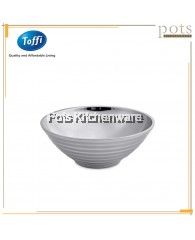 Toffi Stainless Steel Double Layer Anti-Scald Soup Bowl - K6100