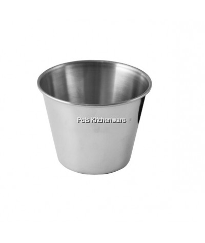 6pcs Stainless Steel Deep Sauce Cup - MX45CM