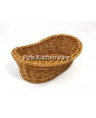 Oval Polyrattan Bread Basket - A13436