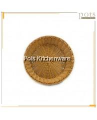 40cm Round Polyrattan Bread Basket - A13451