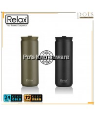 Relax 500ml Stainless Steel 18.8 Thermal Flask - D2250