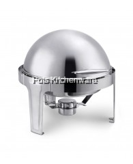 Imported High Quality Stainless Steel Round Chafing Dish - B4002