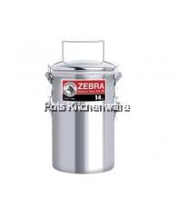 14cmx2 Zebra Jumbo Smart Lock Food Carrier - 150255