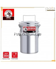 Zebra 14cm 2-tier Jumbo Extra High Smart Lock Airtight Food Tiffin Carrier with Cover - Z150255