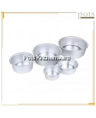Aluminium Fix Base Cake Pan - AL408