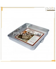 Aluminium Square Cake Tin/ Cake Pan/ Baking Pastries Tray - A0606M
