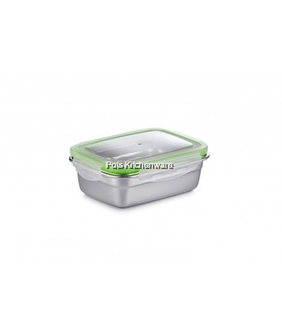 550ml Stainless Steel Rectangular Food Container - H0055