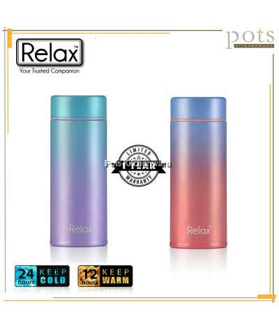 Relax 250ml Stainless Steel 18.8 Thermal Flask - D2125