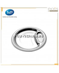 32cm Toffi Stainless Steel Fast Food Tray - B6132