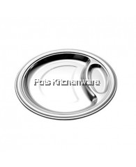 32cm Stainless Steel Fast Food Tray - B6132