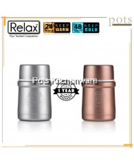 Relax 500ml Stainless Steel Thermal Food Jar - K3750